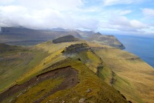 The northwest ridge. Wow!