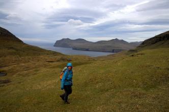 Windy hike!