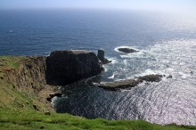 Mykineshólmur cliffs