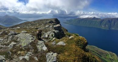 Karma - my loyal hiking mate