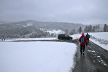 Back to the Klundby trailhead
