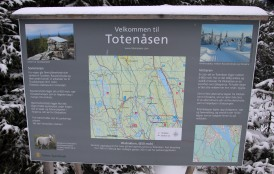 Map at the trailhead