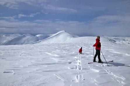Towards Grønlifjellet