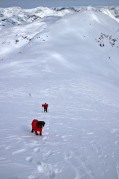 A steep ascent