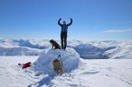 On top of Instengfjellet