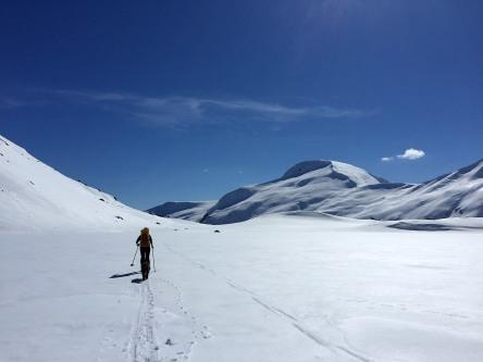 Across Stigsvatnet