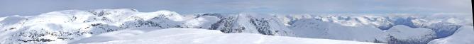 Litlebottsegga summit view (1/2)