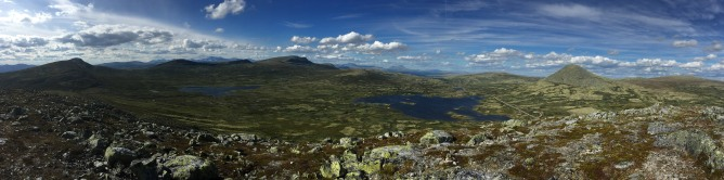 Søre Bølhøgda summit view (1/2)