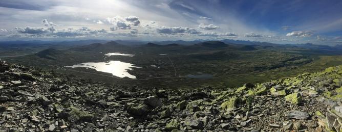 Muen summit view (1/2)