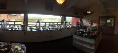 The dessert buffet. Hard to maintain discipline...