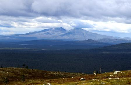 The Sølen massif