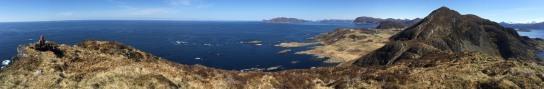 Dollsteinen summit panorama (1/2)