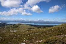 View across lake Femunden