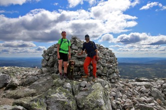 On top of Trysilfjellet