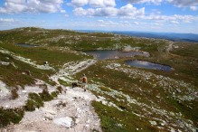 Descending Sigridsfjell
