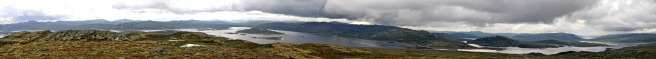 View from Haraldshovde (1/2)