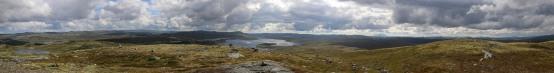 Gloppetjønnhovde panorama (2/2)