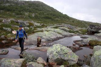 So far, a nice hike...