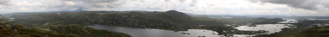 Grottehovda panorama (1/2)
