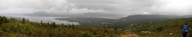 Tunhovdåsen (rainy) view