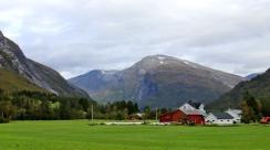Sætredalsfjellet seen from Honndalen