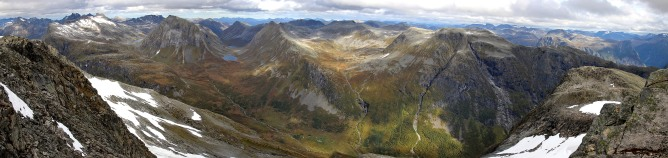 Main summit panorama (2/2)