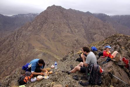 Houssain organizing the picnic