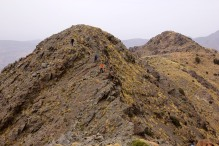 The other humps on the summit ridge