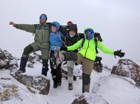 Torkel, Jorunn, Houssain and Abdul