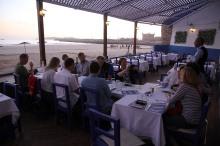 A restaurant near the fish market