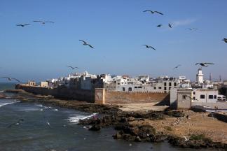 View towards the Medina