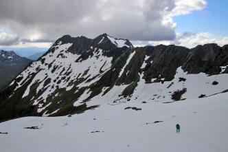 Looking back on Hellefjellet
