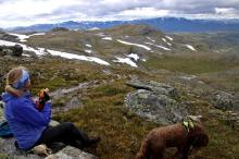 Lunch break above Raggsteindalen