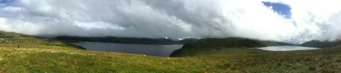 Børevatnet and Kvanndalsvatnet