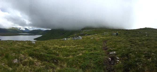 Straight towards Storebøra