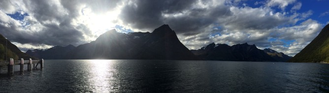 View across the fjord