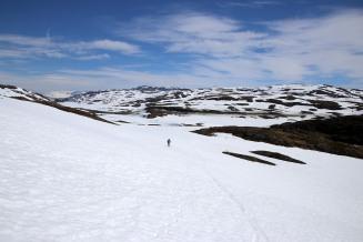 Towards Skjelingahaugen