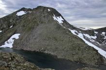 The ridge to Matøskja