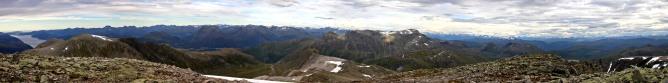 Matøskja summit view (1/2)