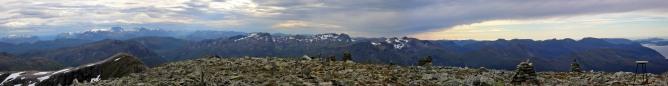Matøskja summit view (2/2)