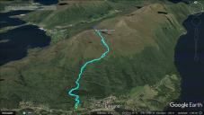 The route from Havåg
