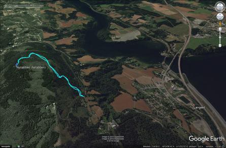 The path to Nynabben