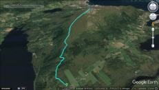 The route from Ulset