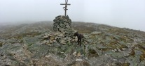 On top of Fuglefjellet