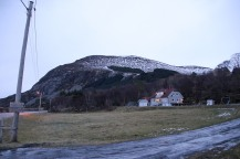 Hidsegga seen from the trailhead