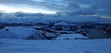 View from Melshornet