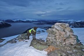 Karma on top of Helgehornet