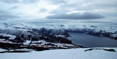 View towards Volda