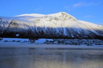 A cold Isfjorden