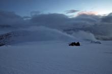 Garnestua - nope! Because of the snow depth